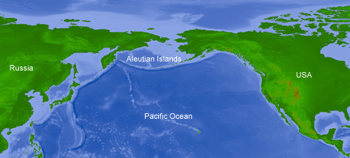Aleutian Islands corals aleutianslocation